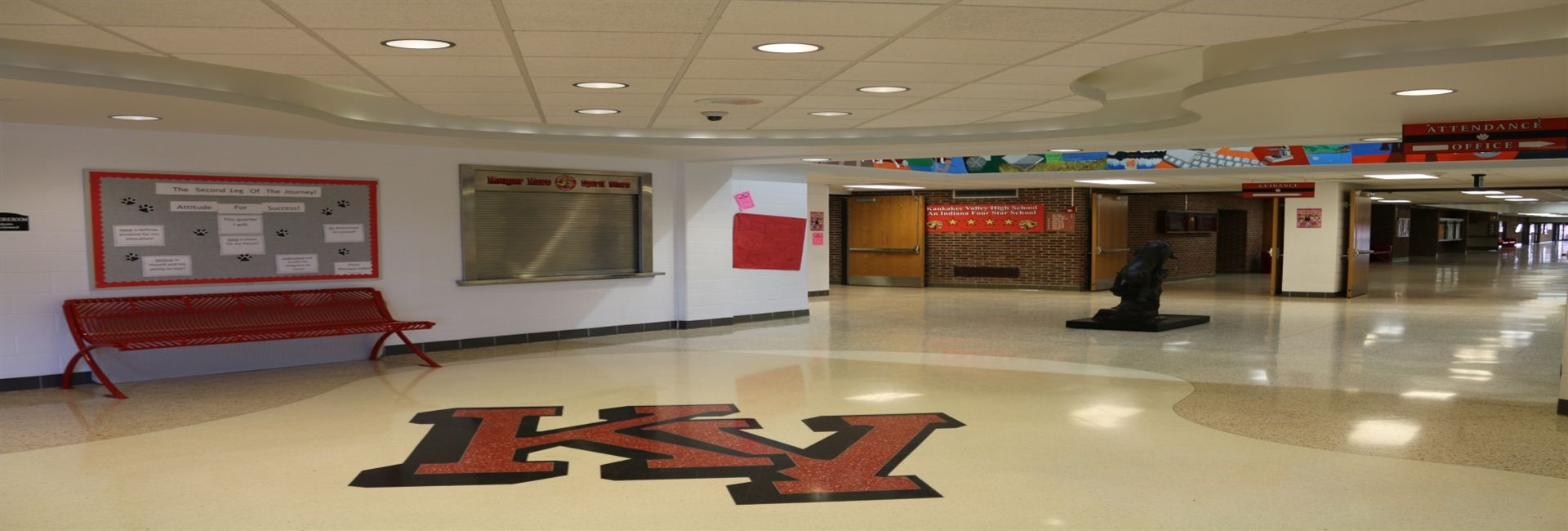 Kankakee Valley High School Lobby