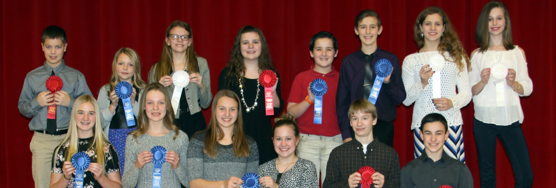 Kankakee Valley Middle School Science Award Winners