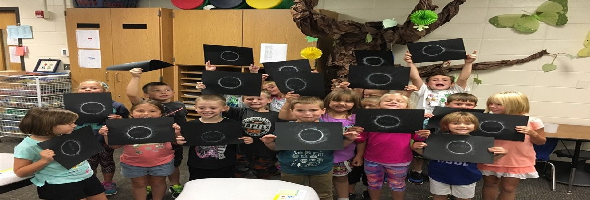 Ms. Phillips' Class Solar Eclipse Project