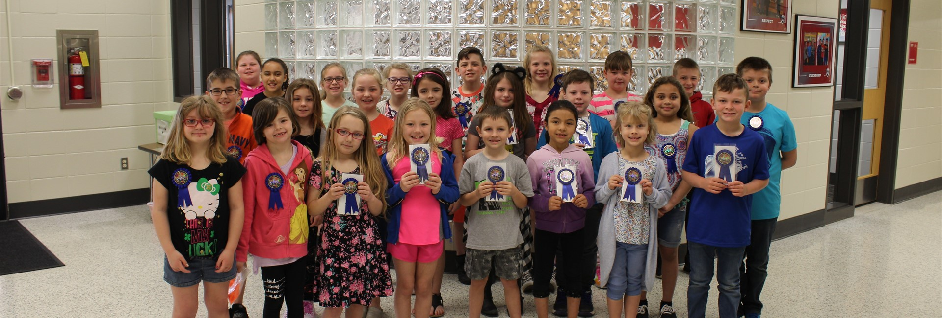 Congratulations to our 2018 Art Show Ribbon Winners grades 1-3