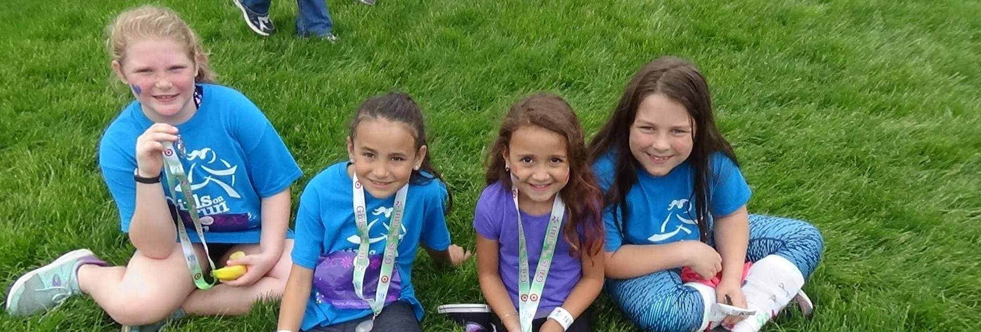 WES Girls on the Run participants