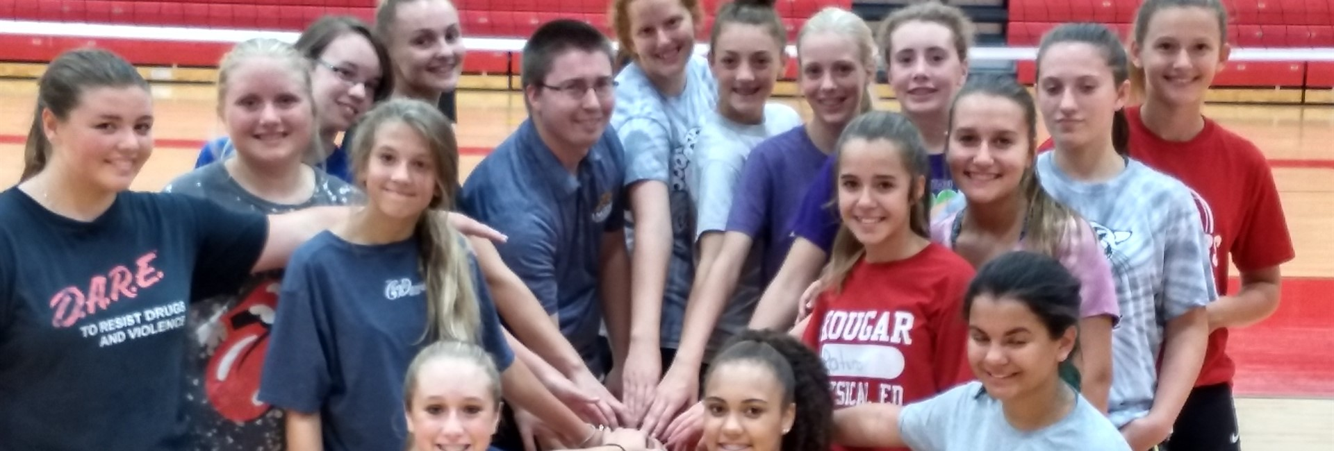 8th Girls VB Team
