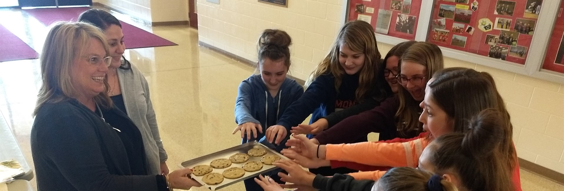 KVMS February 2019 Cookie Day