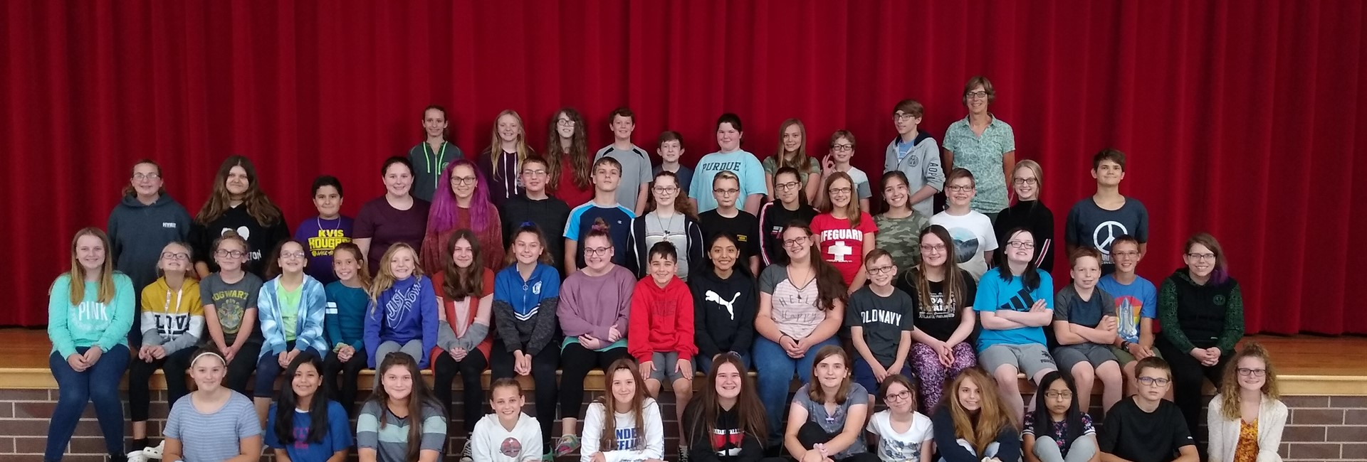 KVMS Student Council Recognized as an Indiana Honor Council
