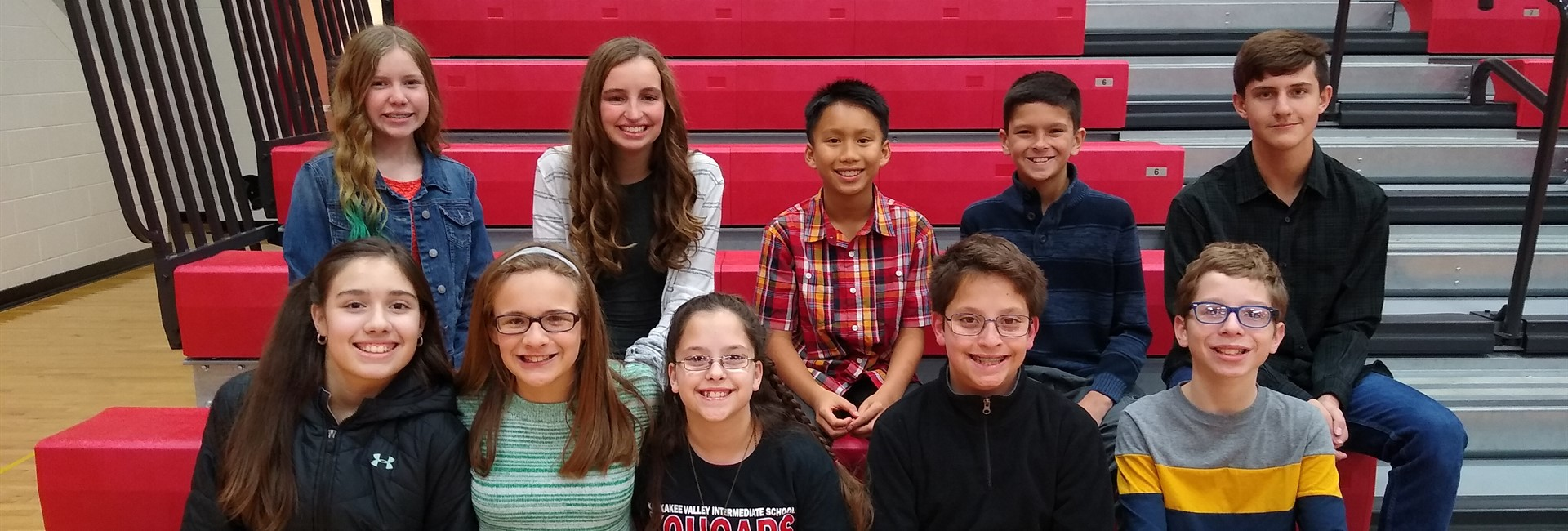 KVMS Spell Bowl Team