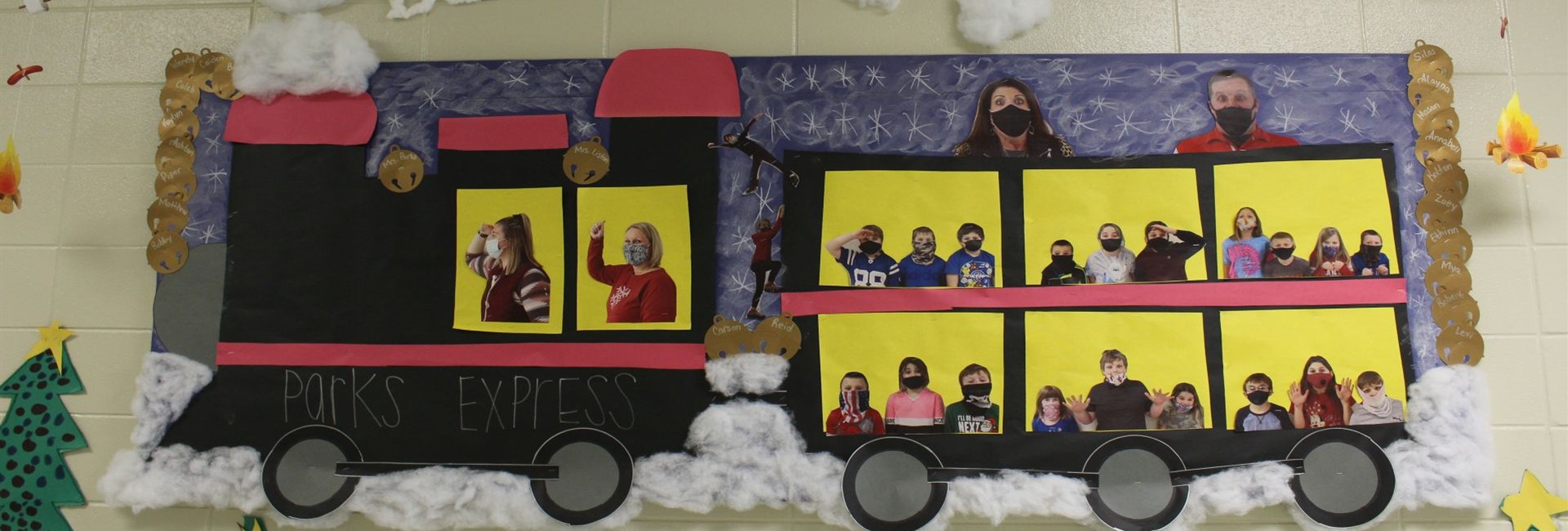 "All aboard...Mrs. Parks Third Grade ""Parks Express"" - WES"