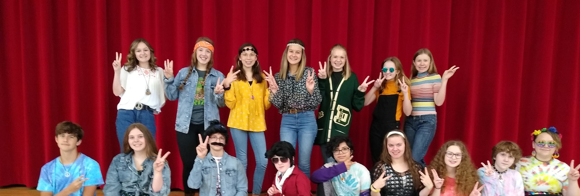 70s Day Party at KVMS