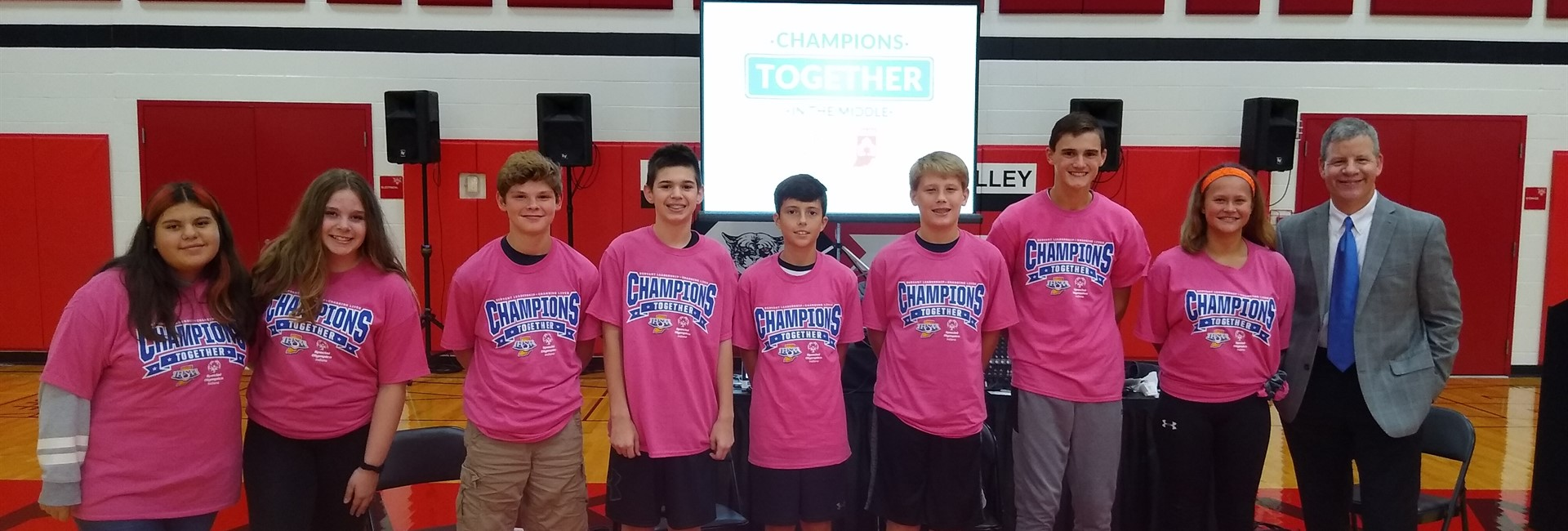 KVMS Champions Together Leadership Team