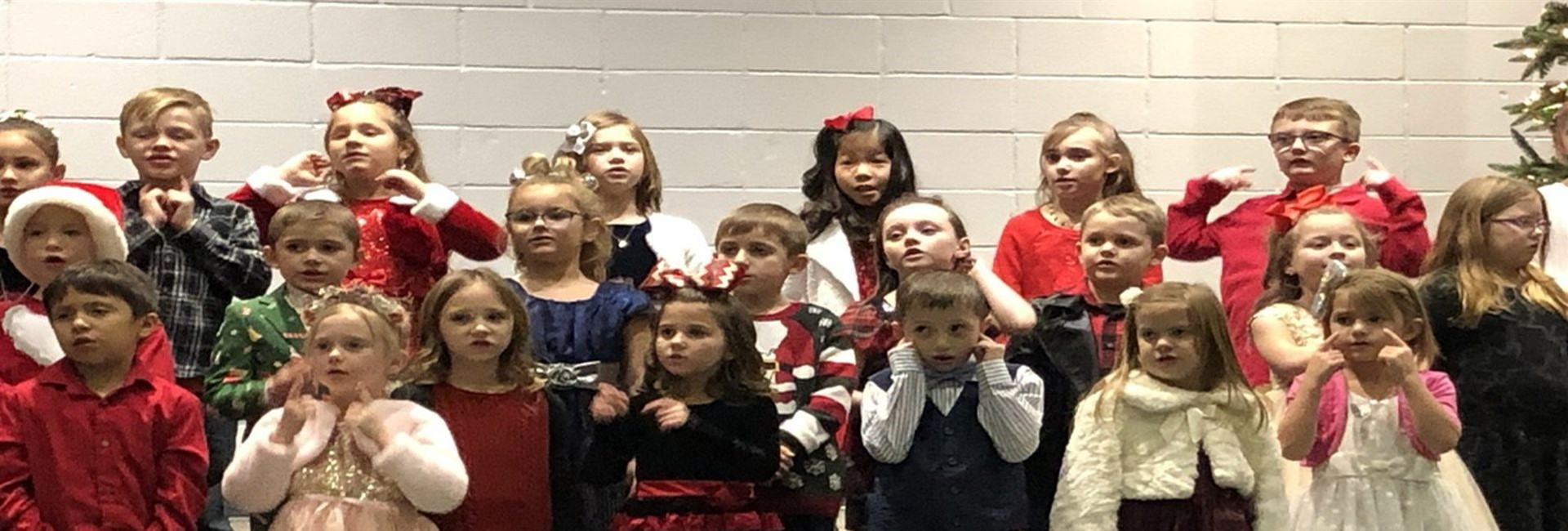 WES First Grade Holiday Music Program