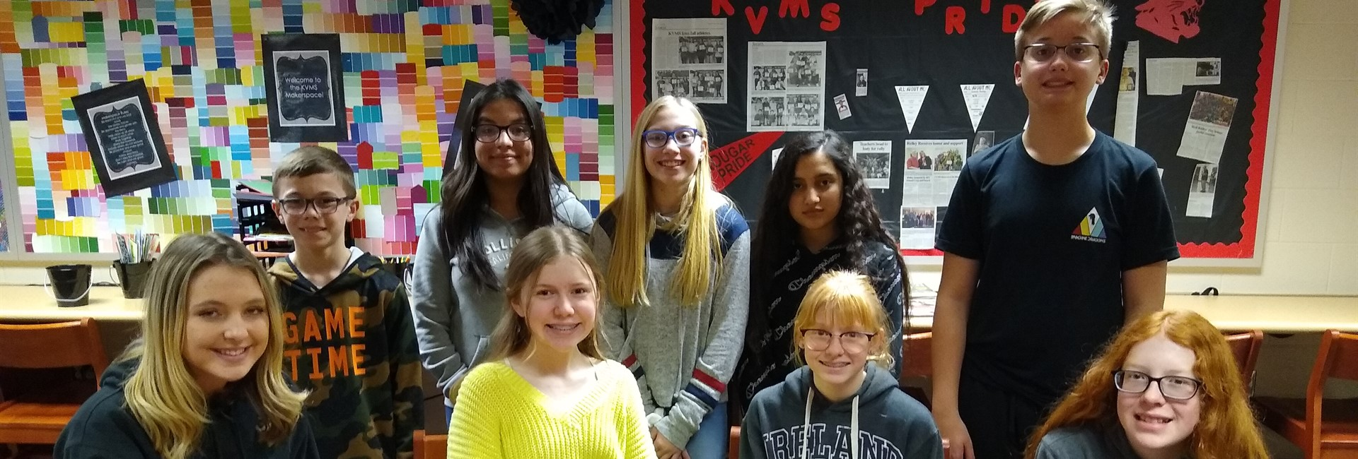 KVMS November Students of the Month