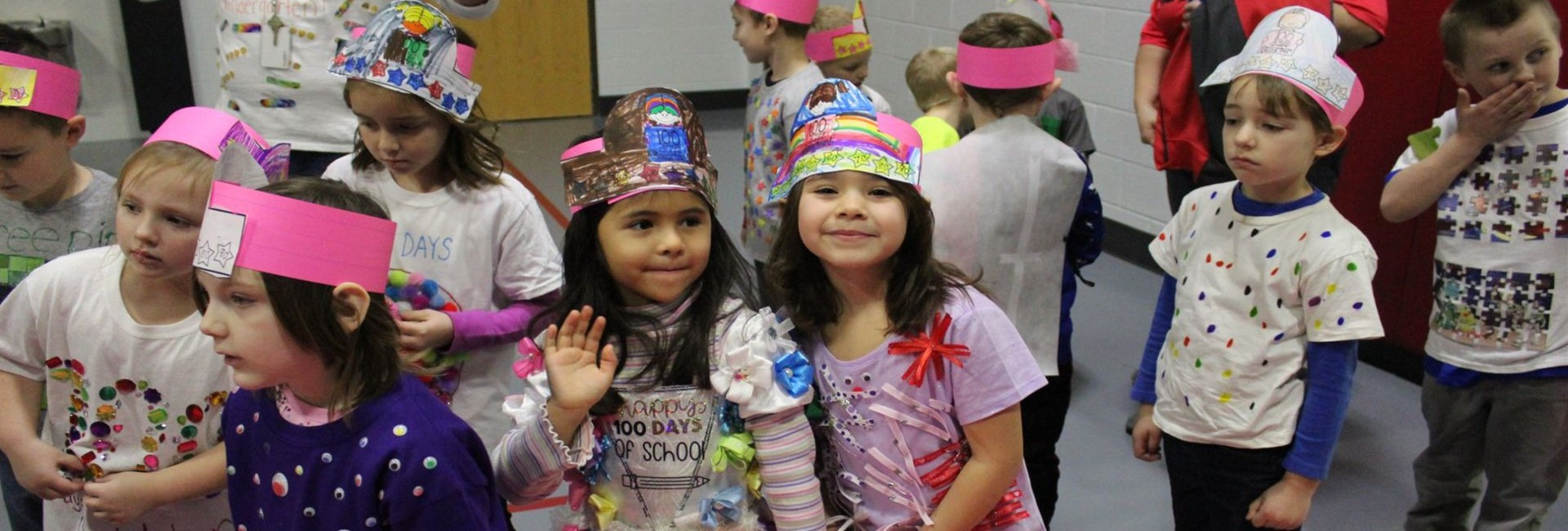 WES 100th Day of School Fashion Show