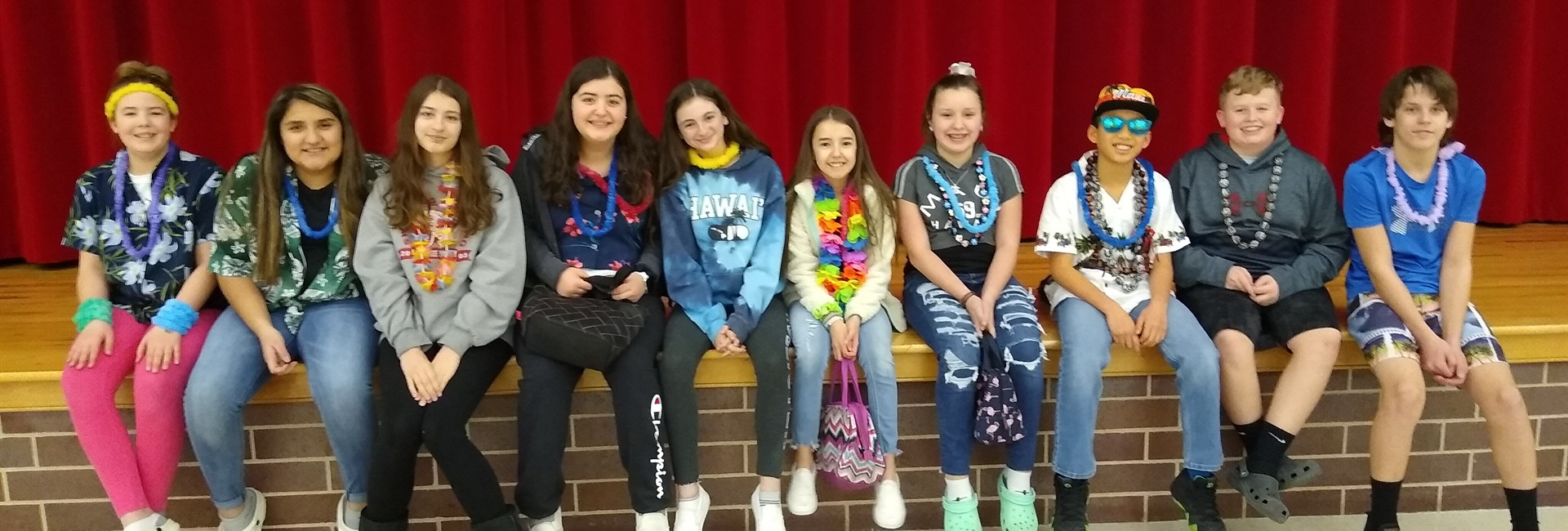 KVMS Hawaiian Day 2020
