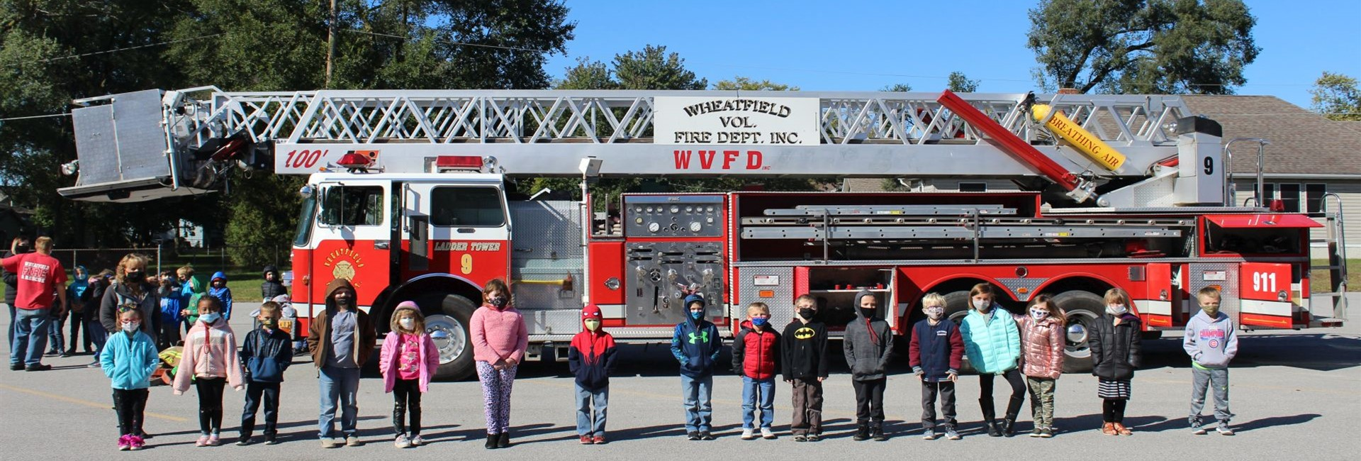 Mrs. Hamstra's Class Learning Lots About Fire Safety - WES