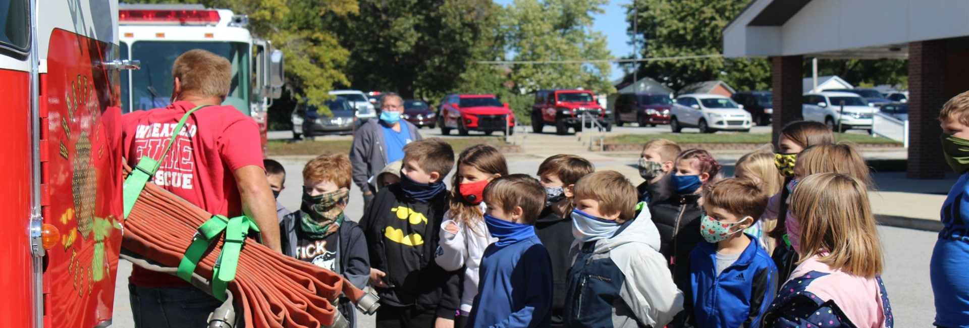 Fire Safety Week at WES